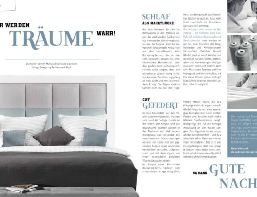 Hier werden Träume wahr! – Magazin Blickwinkel Dezember 2015