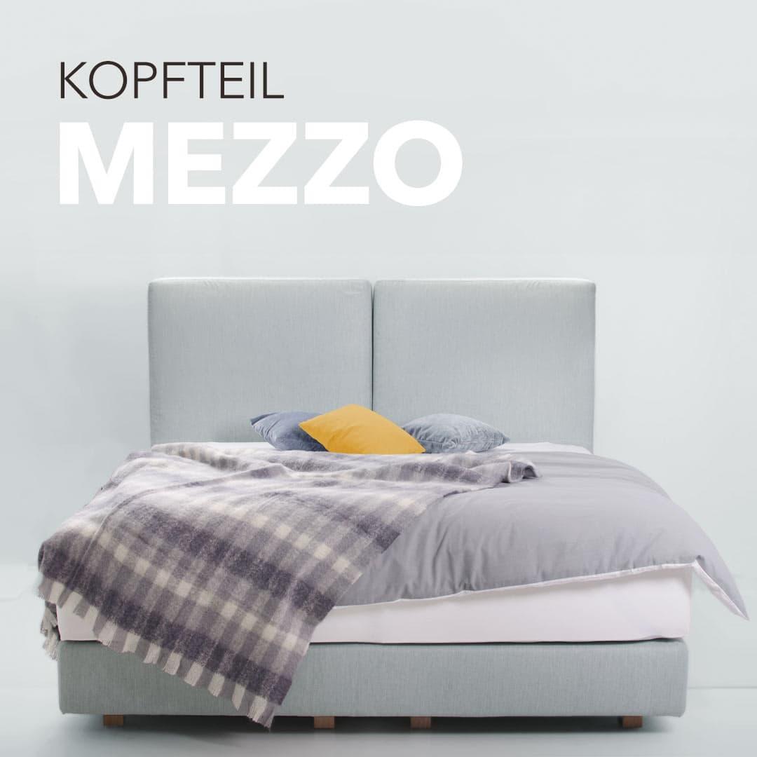 """Neues Kopfteil Design """"Mezzo"""""""