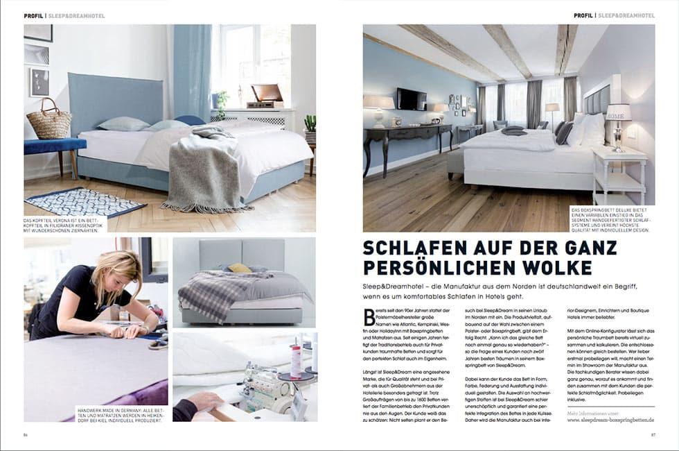 Artikel SLEEP Magazin