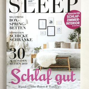 Sleep&Dream im Magazin SLEEP