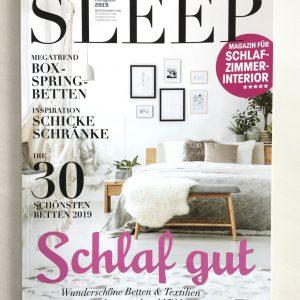 Sleep&Dream im Magazin SLEEP