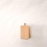 Holzfuß Eiche natur 6 x 6 x 10 cm