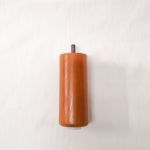 Holzfuß Buche kirschbaumfarbig 6 x 15 cm rund