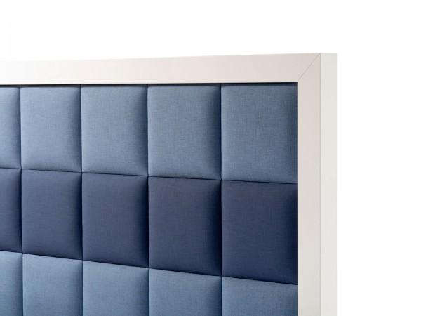 Bettkopfteil Holzrahmen mit Polsterplatten
