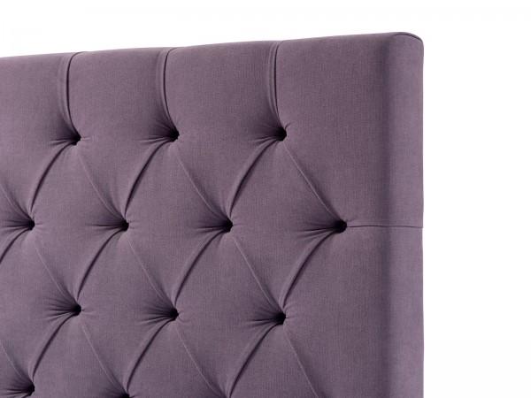 Bettkopfteil Luxury Line, Knöpfe in Falten gelegt